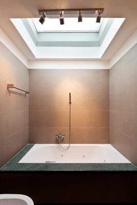 bathroom roof light installation