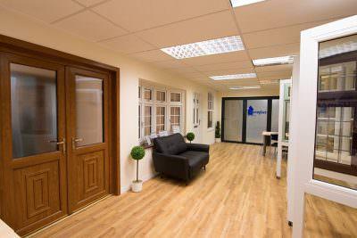 Showroom Composite and bifold doors