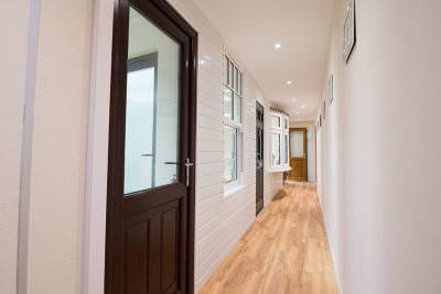 Showroom uPVC entrance doors