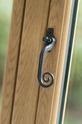 Flush sash window hardware
