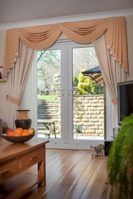 French Door Interior