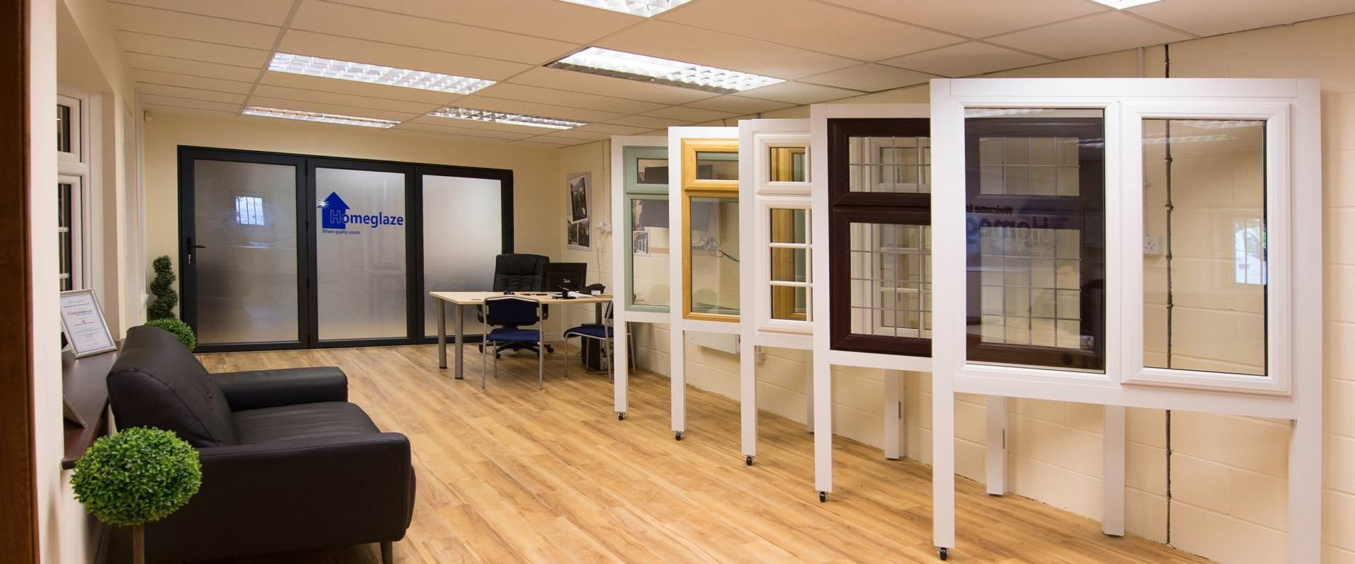 Double Glazing Showroom Chigwell Essex Homeglaze