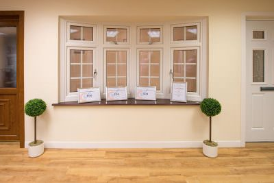 Showroom uPVC bow window
