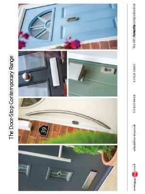 Door Stop door brochure