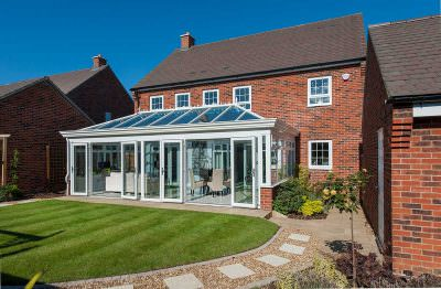 synseal orangeries uPVC french doors