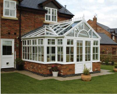 combination conservatory roofline