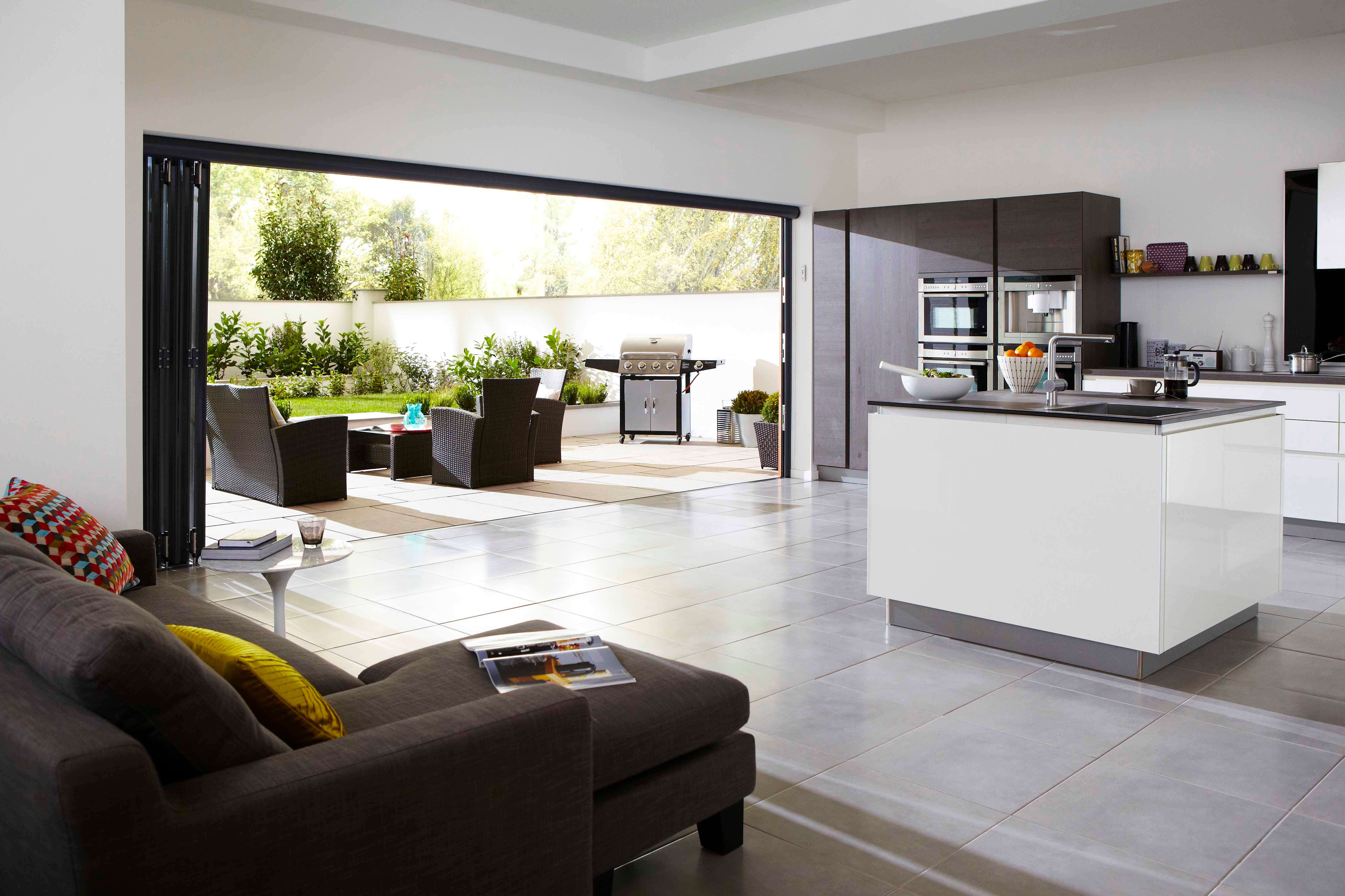 aluminium bifold doors for homes in Chigwell
