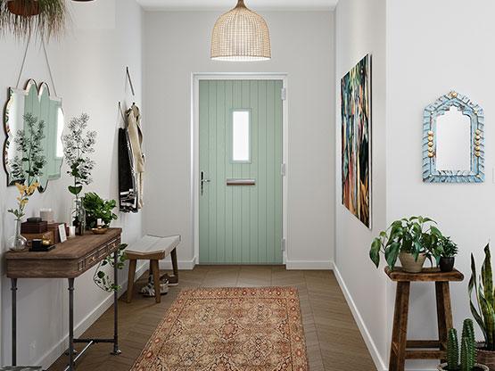 modern front door wanstead